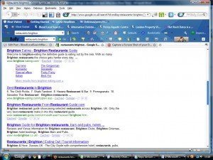 Brighton directory listing on Google