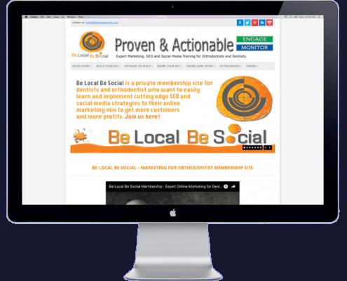 belocalbesocial website design