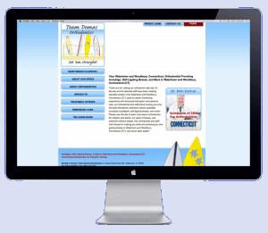 team demas website before blend website redesign