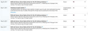 Google Algo Changes - May