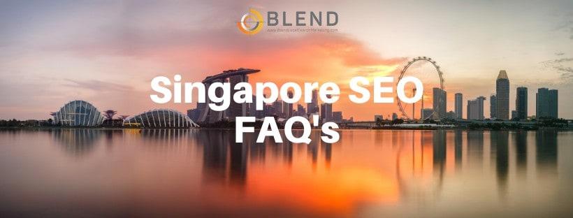 Singapore SEO FAQ