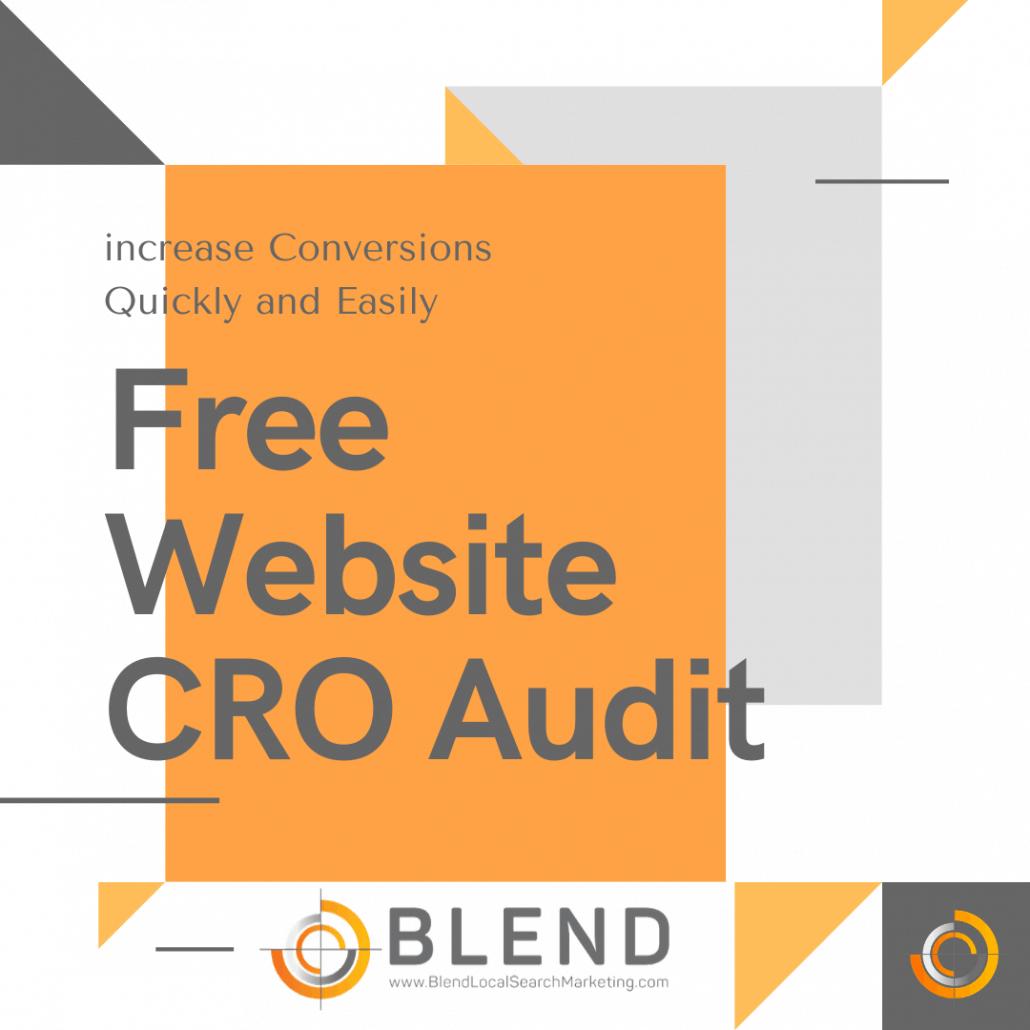 Free Website CRO Audit