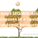10 ways SEO Will Assist Businesses in a Covid-19 Pandemic Recovery